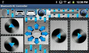 Aplicación de Andico para el control de un coche r/c mediante bluetooth con android y arduino